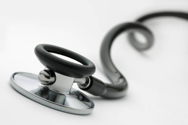 stethoscope - medical supplies stock photos and pictures