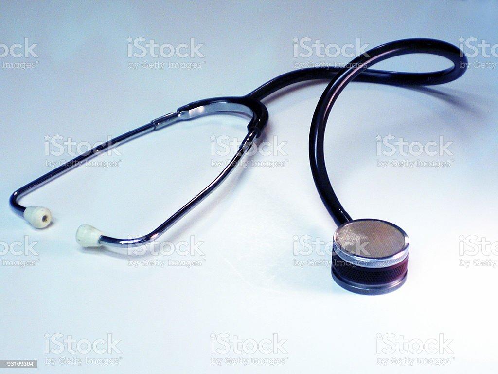 Stethoscope royalty-free stock photo