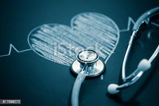 istock stethoscope with a heart 617599272