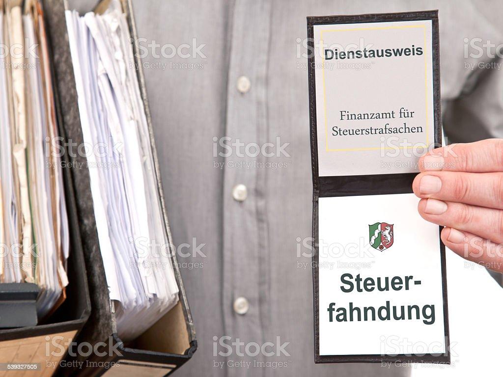 steuerfahndung - Lizenzfrei 2015 Stock-Foto