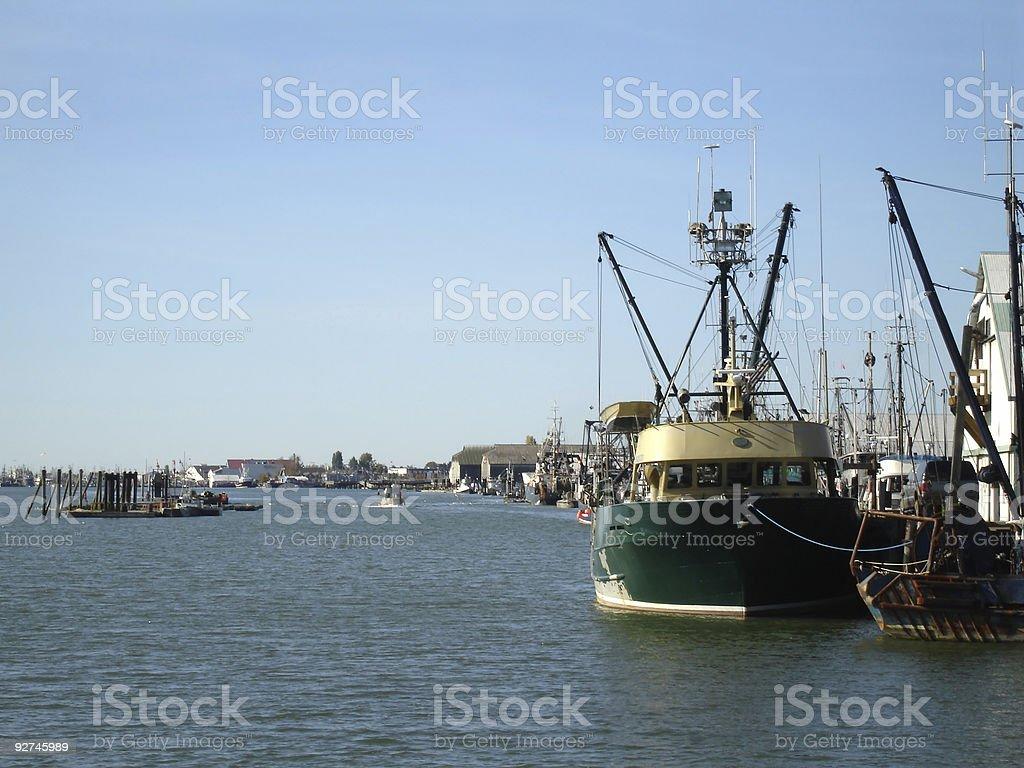 Steveston Harbour Lizenzfreies stock-foto