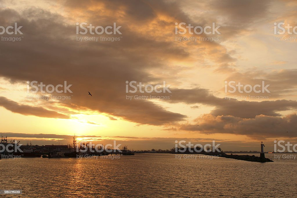 Steveston Sunrise royalty-free stock photo