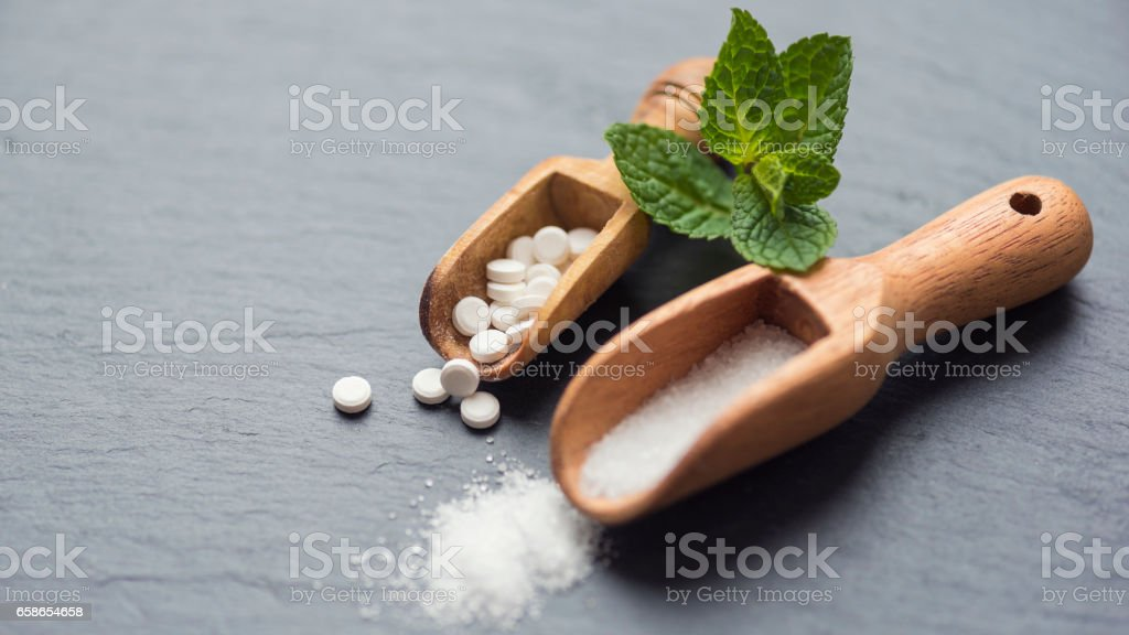 Stevia Sugar Substitute Stock Photo & More Pictures of ...