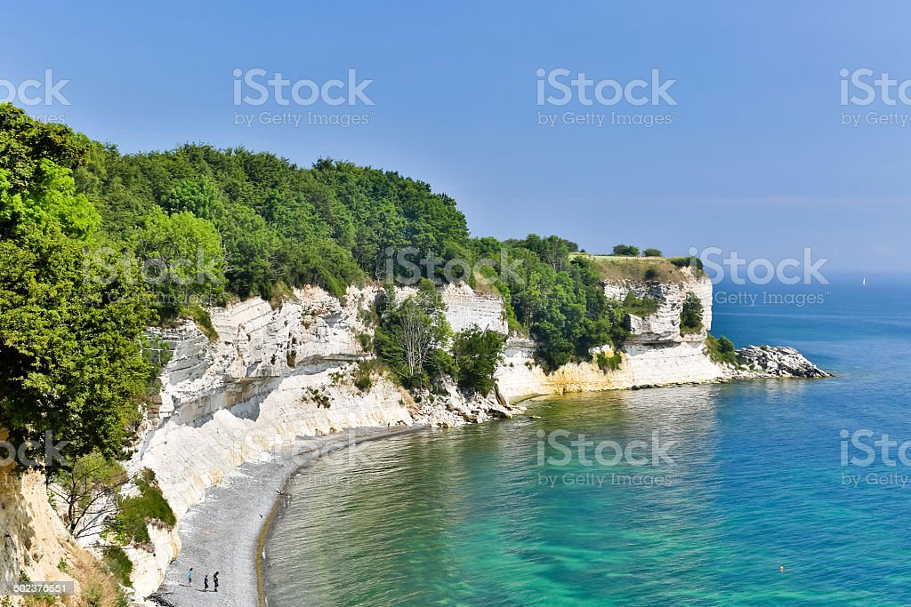 Stevns Klint stock photo