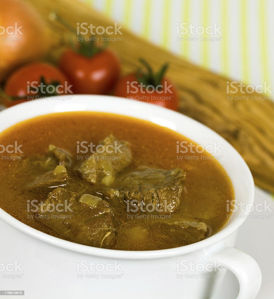 stew of beef and veal royalty-free stock photo