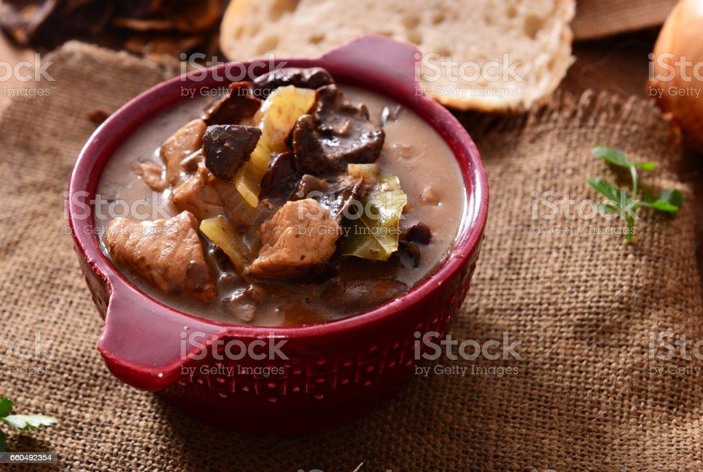 Stew stock photo