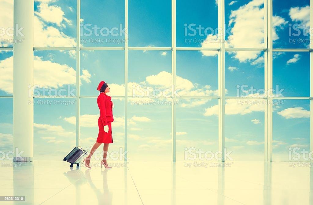 Stewardess vereinbart werden – Foto