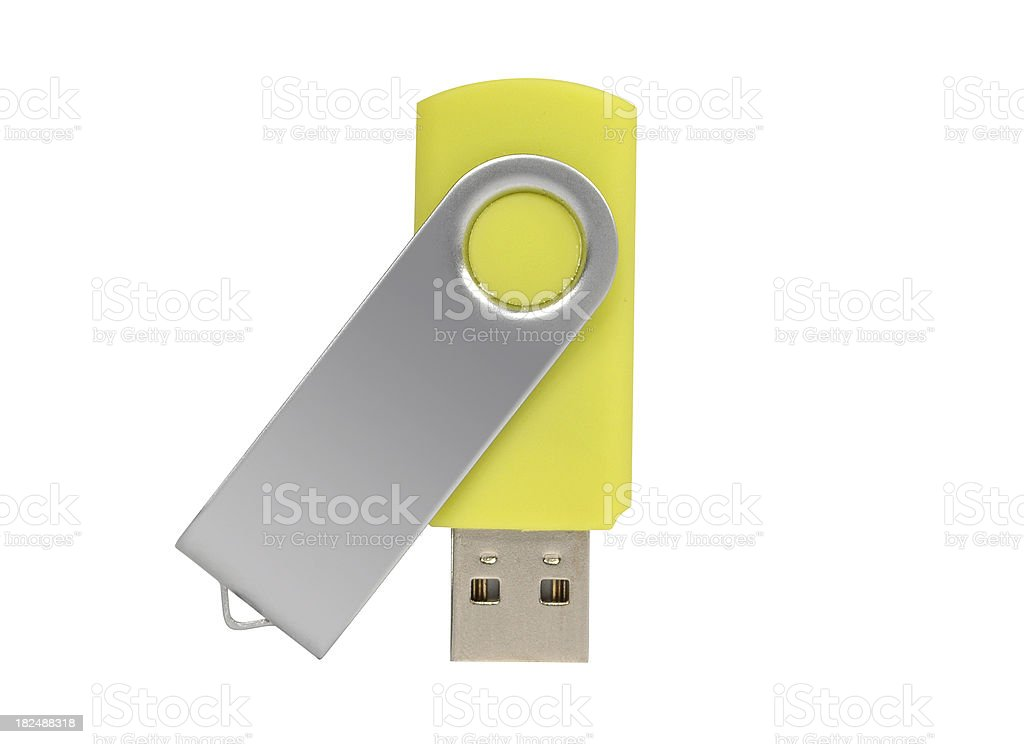 USB Stick - device stock photo