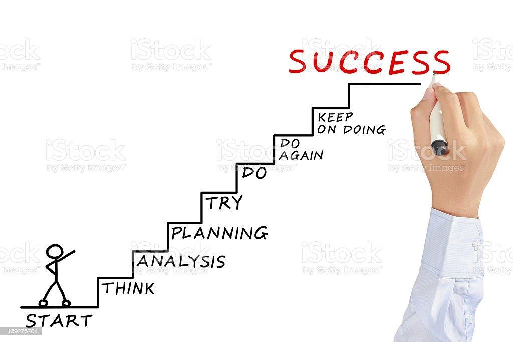 El éxito es objetivo - Foto de stock de Adulto libre de derechos