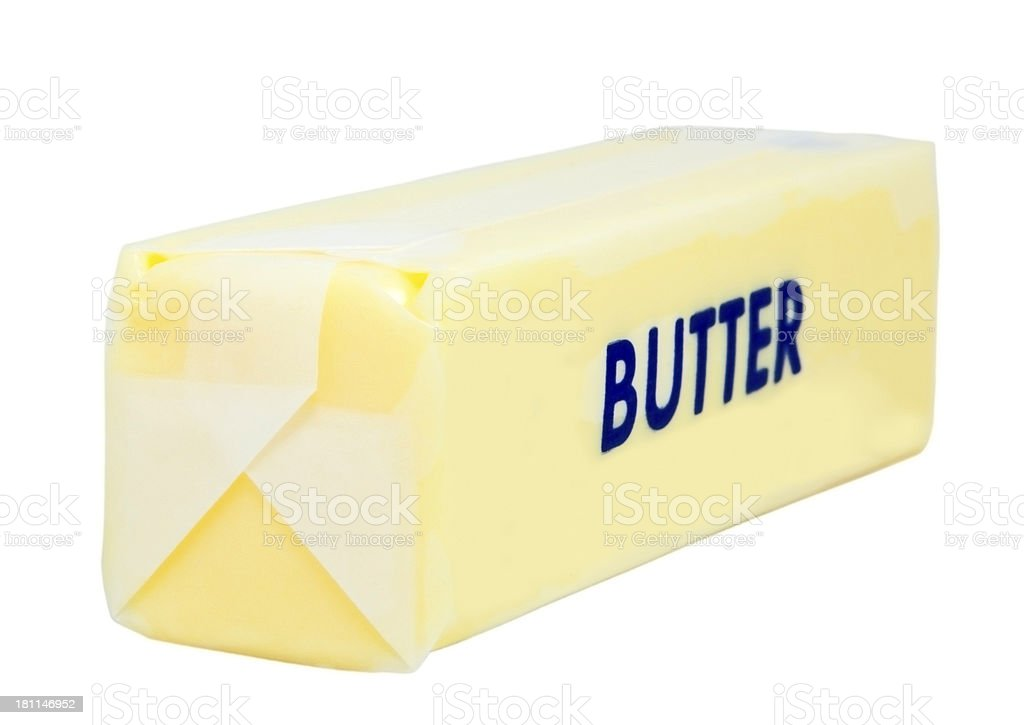 Stick of Butter royalty-free stock photo