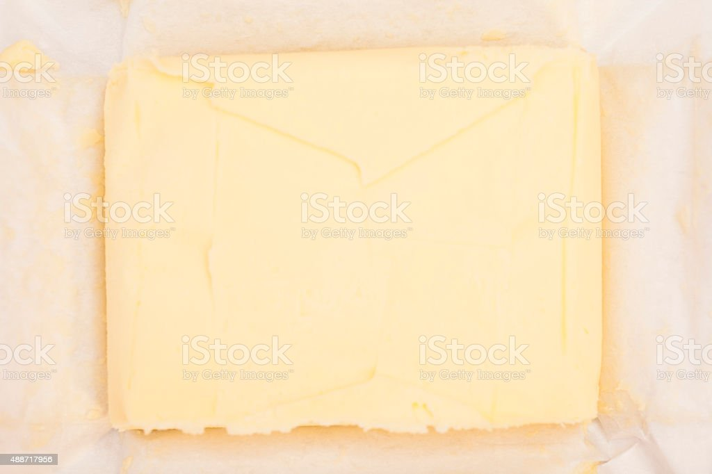 Stick Tasty butter stock photo