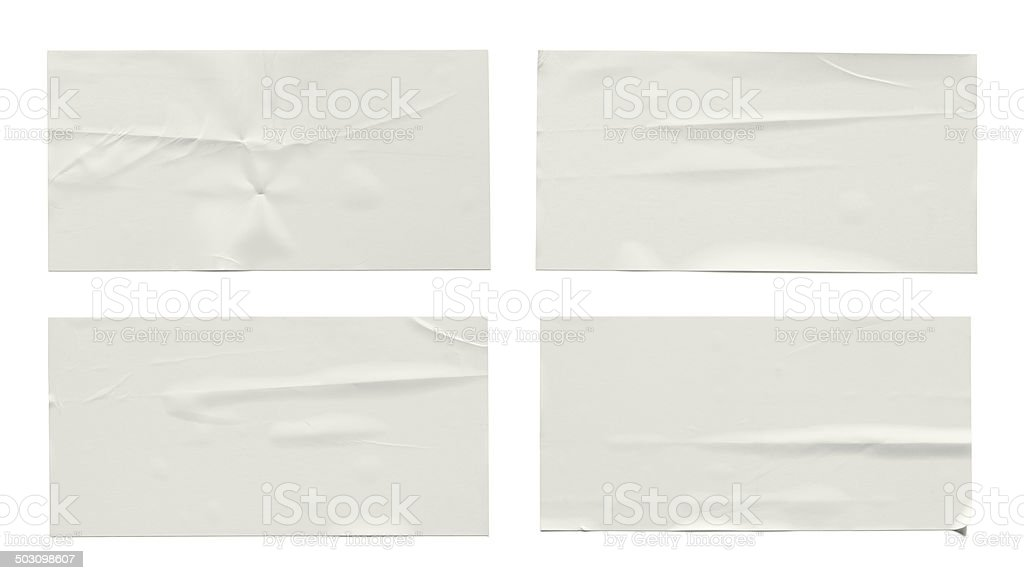 Stickers label stock photo