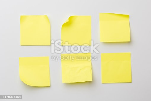 istock Stickers on grey 1178074404