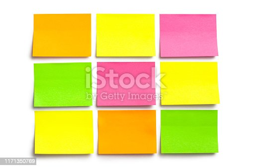 istock Stickers on white 1171350769