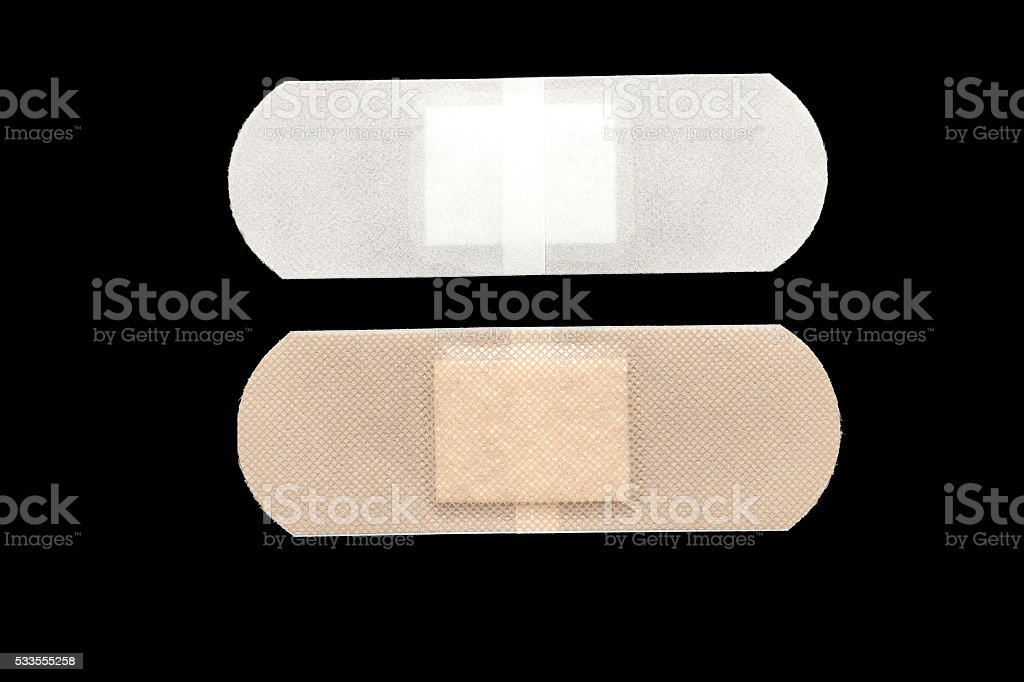 sticking plaster stock photo
