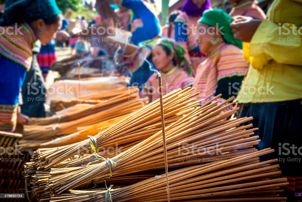 sticks for sale stock photo