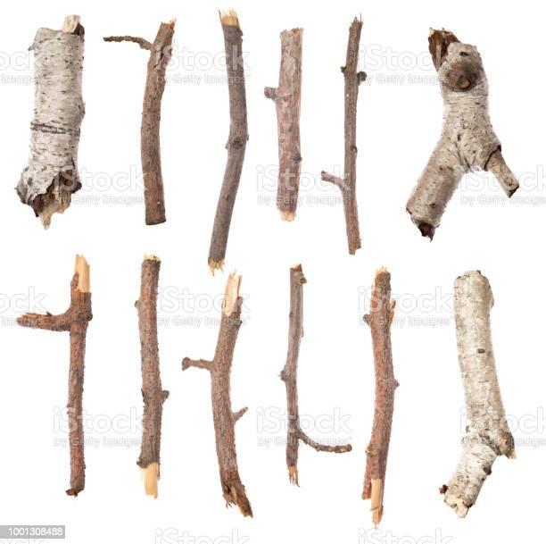 Photo of Sticks on white