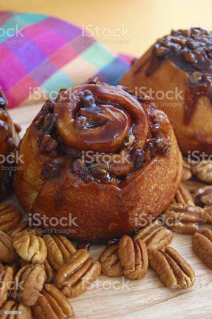 Sticky Buns royalty-free stock photo
