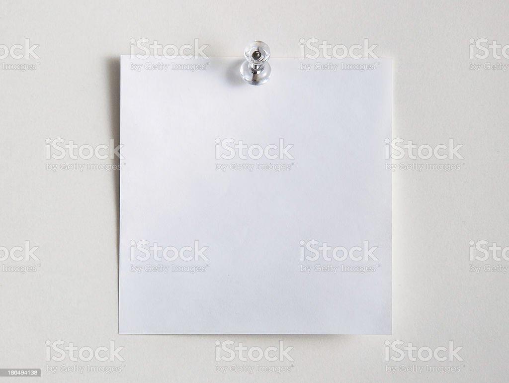 Sticky Note Paper royalty-free stock photo