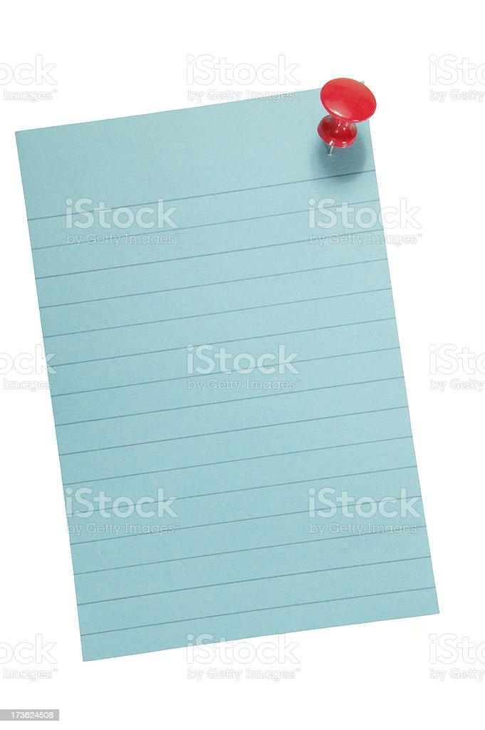 sticky note royalty-free stock photo