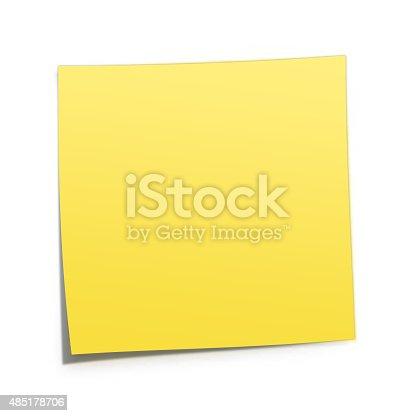 istock Sticky Post 485178706
