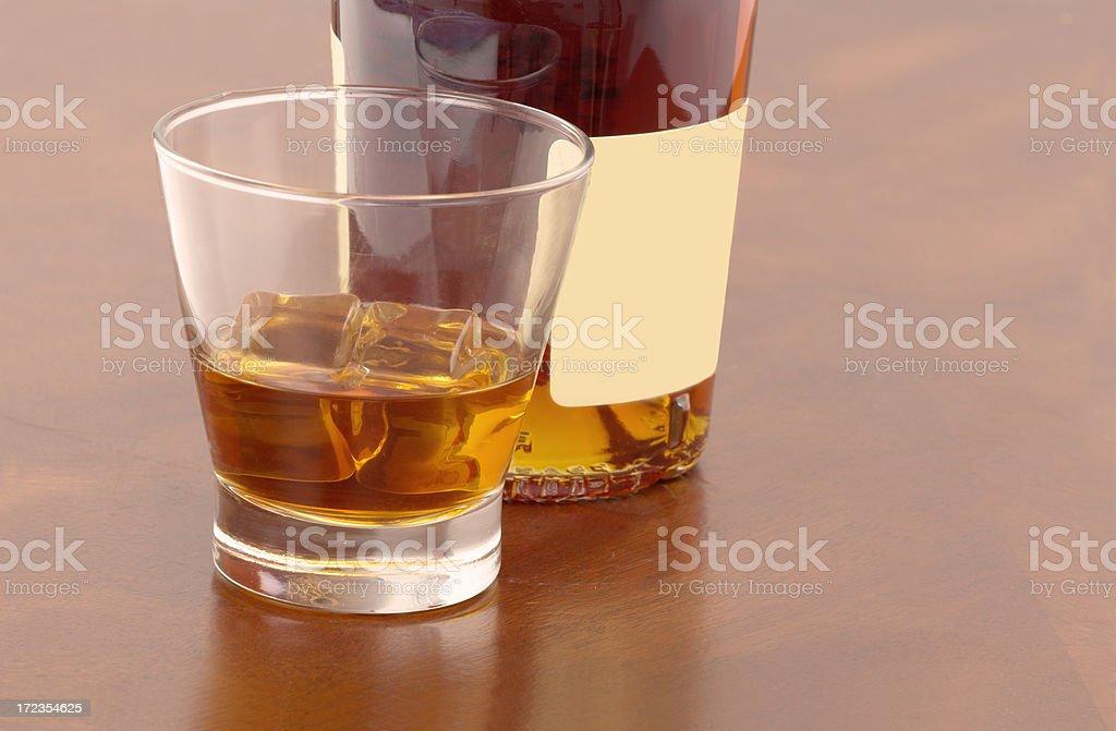 Stiff Drink royalty-free stock photo