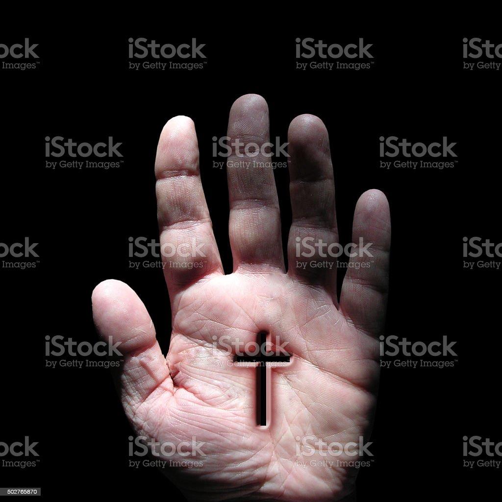 Stigmata stock photo