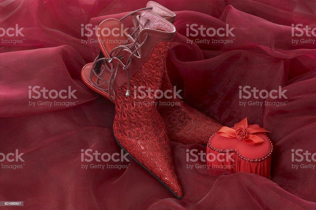 Stiletto love royalty-free stock photo
