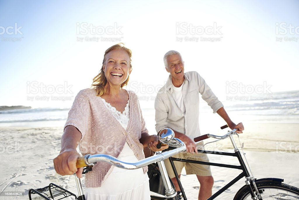 Still in great shape despite their age royalty-free stock photo