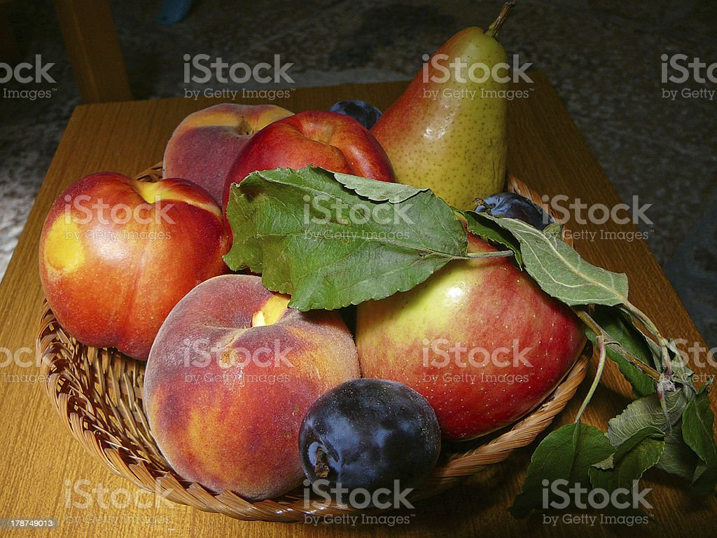 Still life fruit royalty-free stock photo