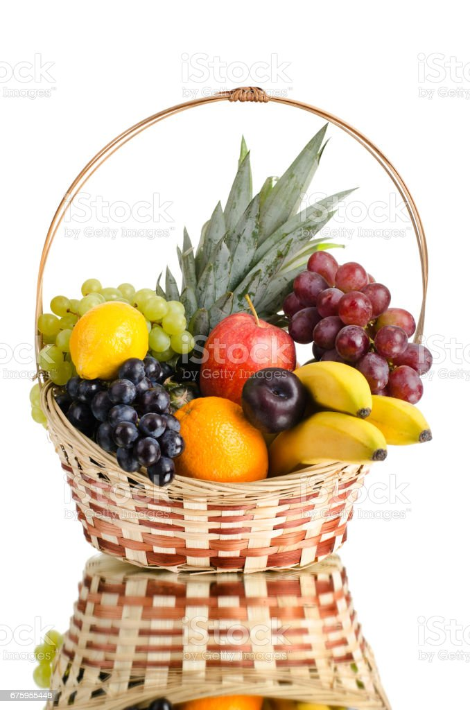 still life multifruit stock photo