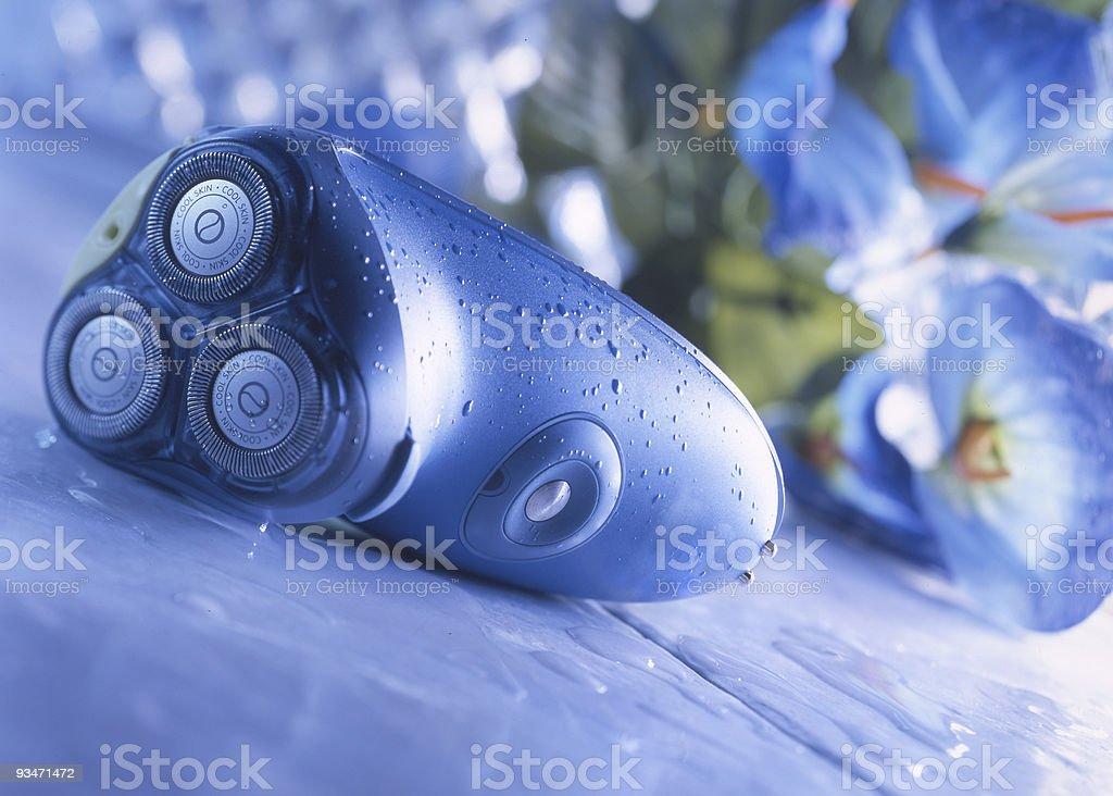 Still life of electric razor stock photo