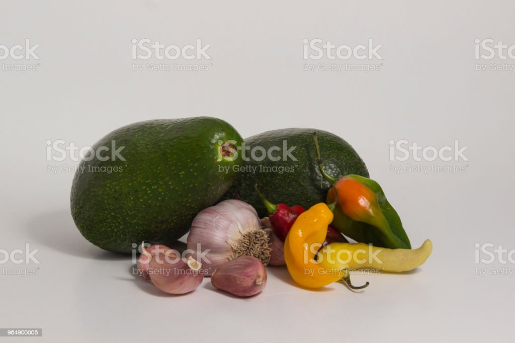 Still life of ingredients of Peruvian cuisine royalty-free stock photo