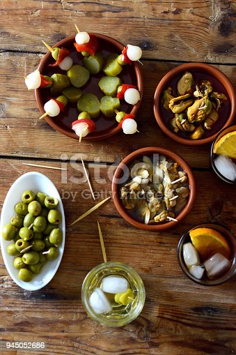 istock still life of typical spanish and italian snack 945052686