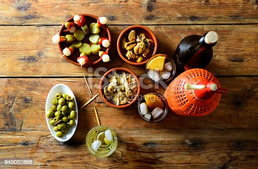istock still life of typical spanish and italian snack 945052868
