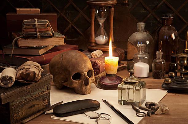 Alchemie Stillleben – Foto