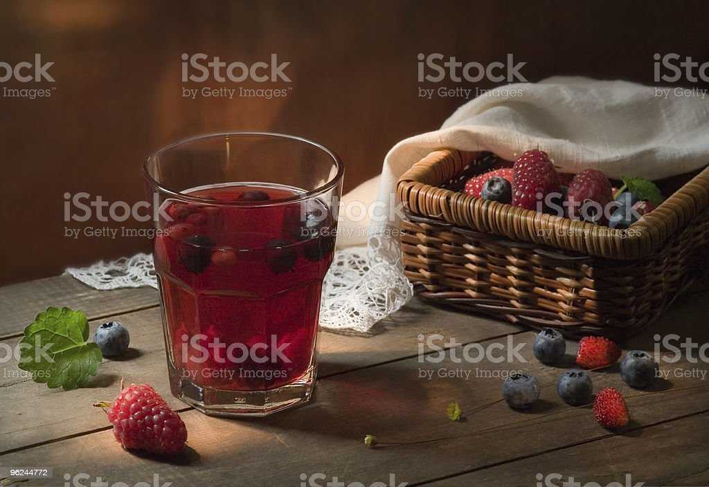 Still life with berries royalty-free stock photo