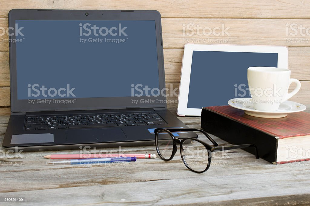 Still Life with business equipment royalty-free stock photo