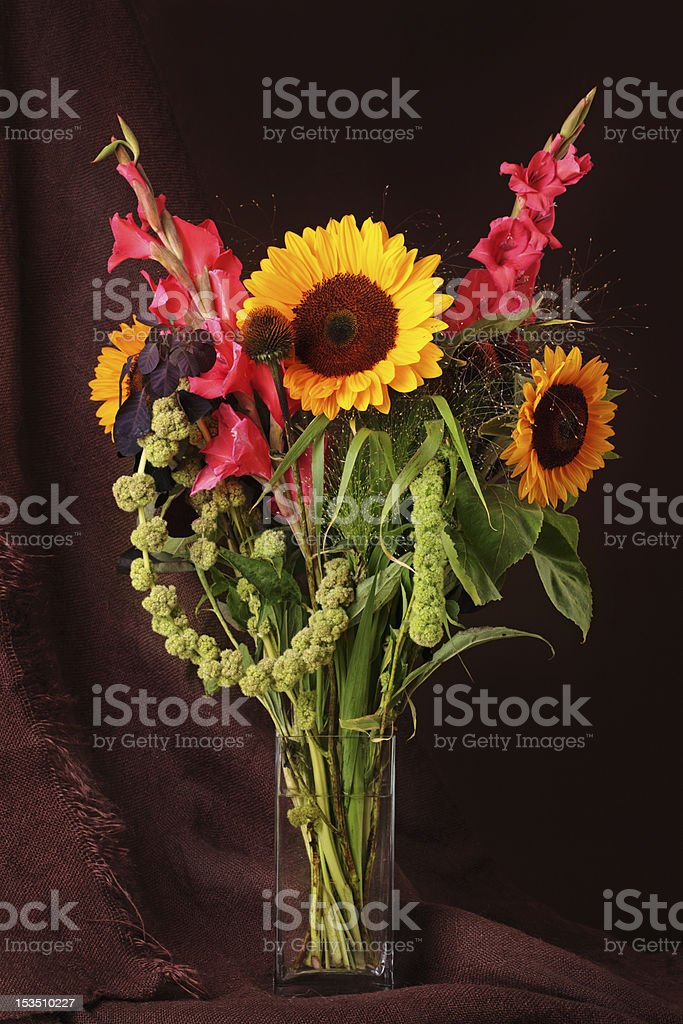 Still life with flowers royalty-free stock photo