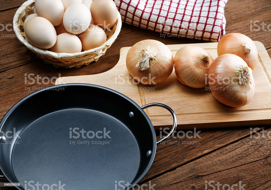 Still life with onions and quail eggs royalty-free stock photo