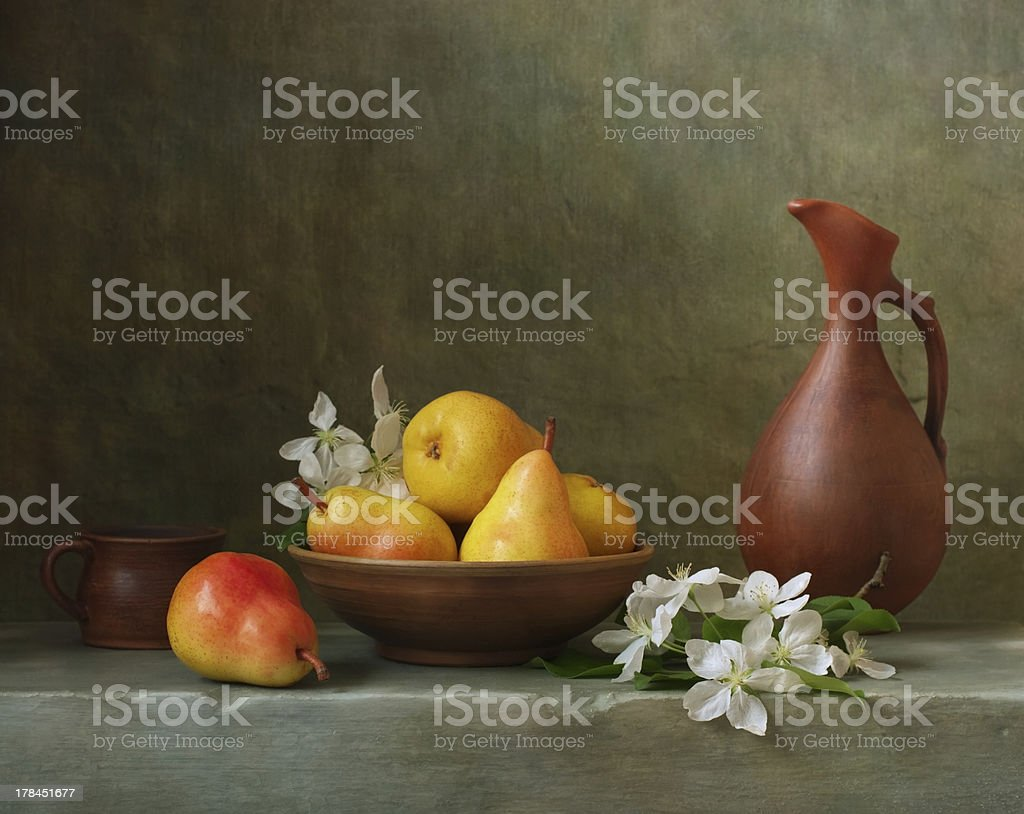 Still life with pears - Royalty-free Abstract Stockfoto