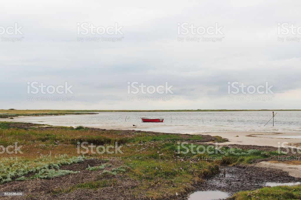 Still life with rowing boats stock photo