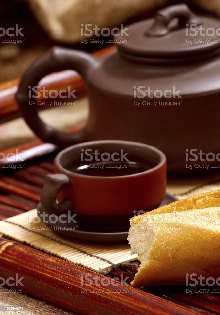 Still Life With Tea royalty-free stock photo