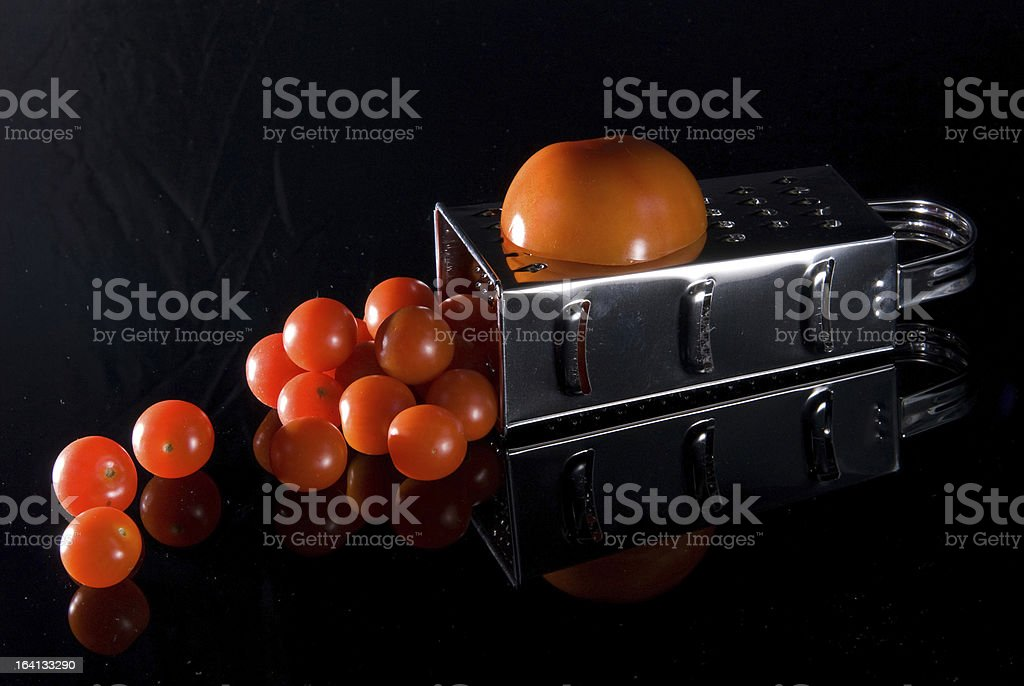 Still life with Tomatoes stock photo