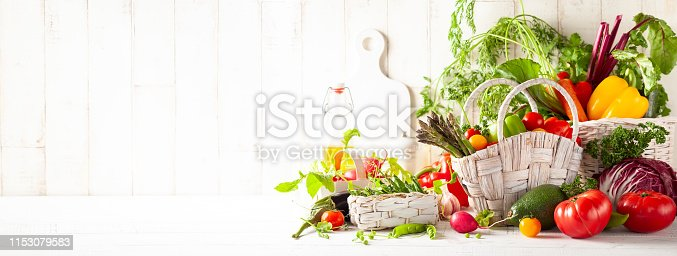istock Still life with various types of fresh vegetables 1153079583