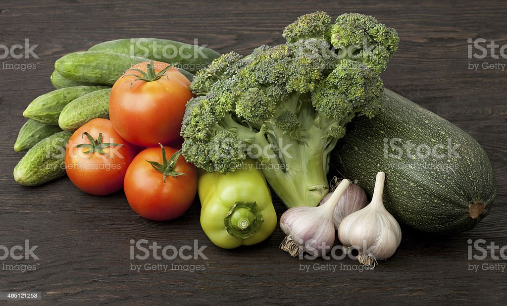 Still life with vegetables royalty-free stock photo