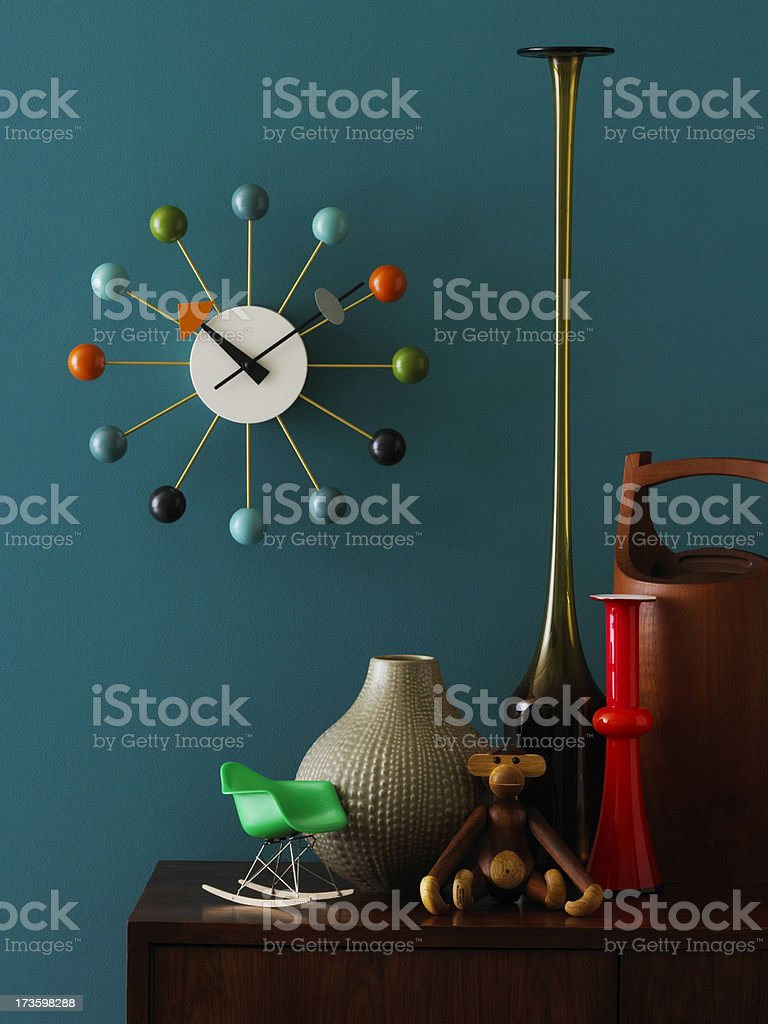 Still Life-Mid-Century royalty-free stock photo
