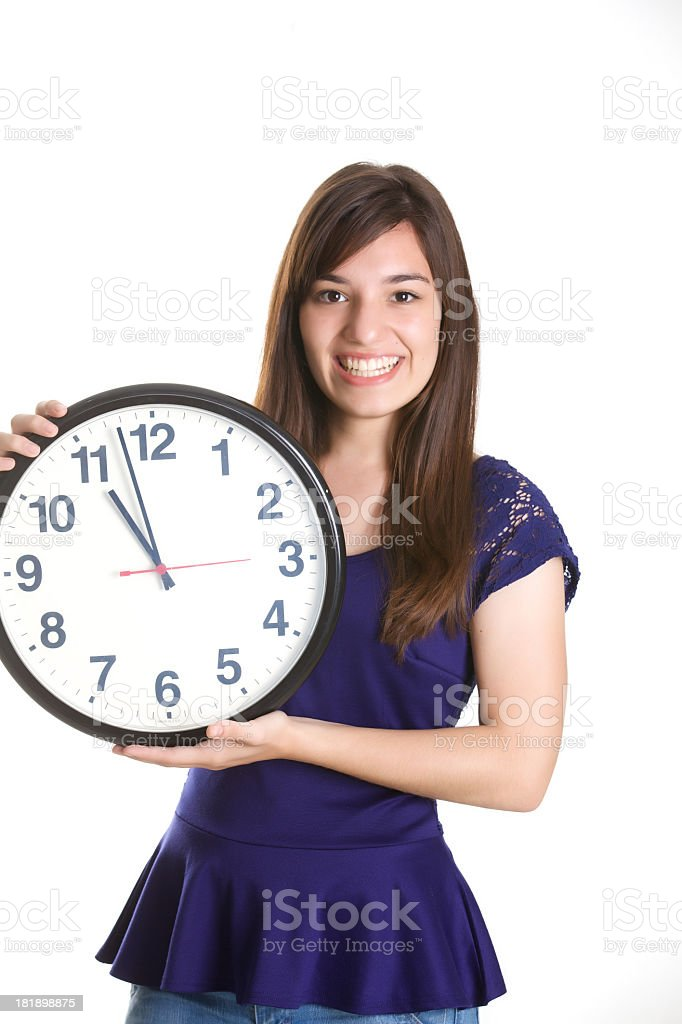 Still on time royalty-free stock photo