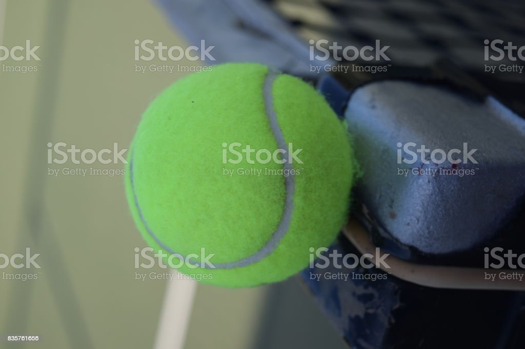 Still Tennis Ball stock photo