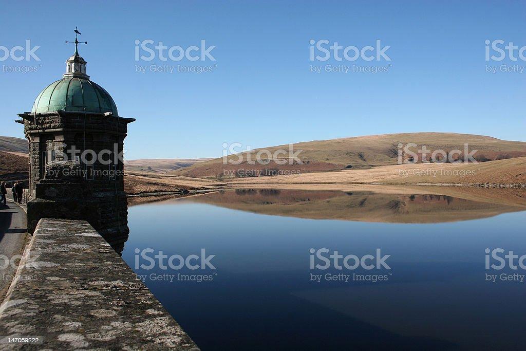 Still Waters at Elan Valley stock photo